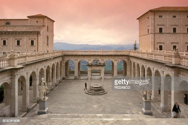 Montecassino abbey cassino italy