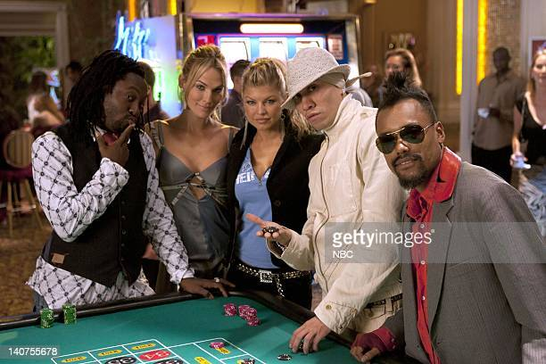 LAS VEGAS Montecito Lancers Episode 7 Pictured william Molly Sims as Delinda Deline Fergie Taboo apldeap of The Black Eyed Peas Photo by Chris...