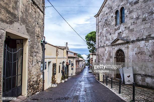 montefalco, province of perugia, umbria - モンテファルコ ストックフォトと画像