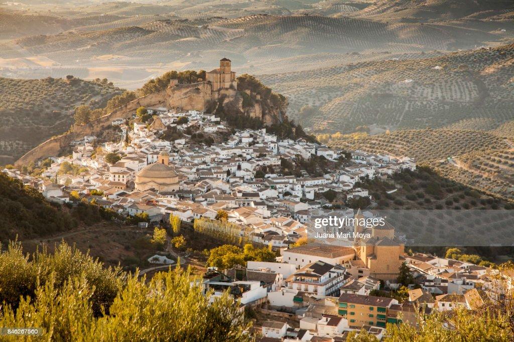 Montefrio, province of Granada : Stock Photo