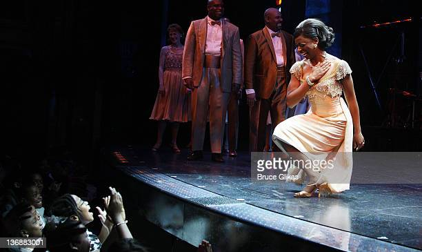 Montego Glover and the cast of Memphis perform at a special performance of Memphis for Inspire Change presented by Audemars Piguet The Tony Awards...