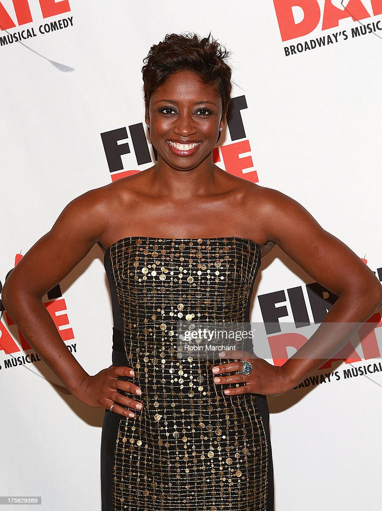 Montego Glover attends 'First Date' Broadway Opening Night at Longacre Theatre on August 8, 2013 in New York City.