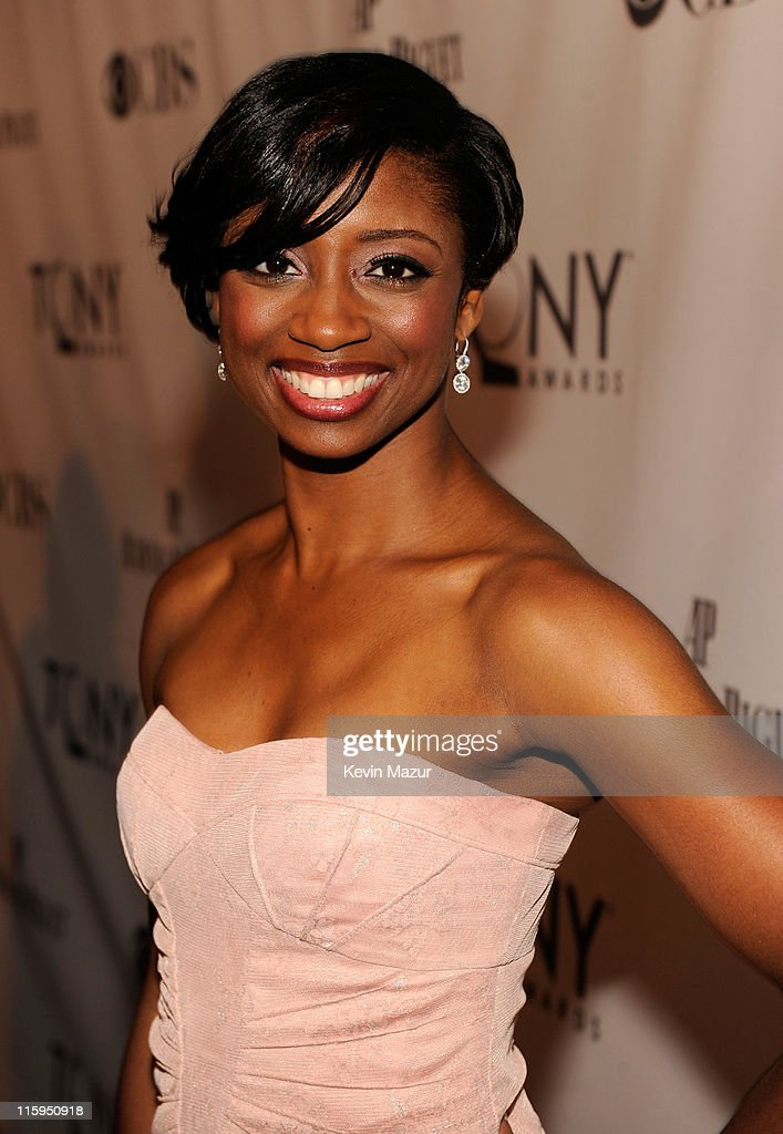 Montego Glover attends the 65th Annual Tony Awards at the Beacon Theatre on June 12, 2011 in New York City.