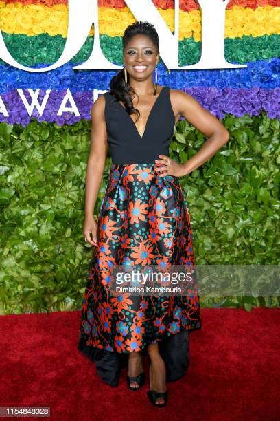 Montego Glover attends the 73rd Annual Tony Awards at Radio City Music Hall on June 09 2019 in New York City
