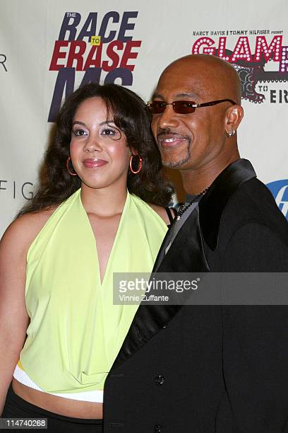 Montel Williams and daughter Ashley 11th Annual Race To Erase MS Gala Arrivals The Westin Century Plaza Hotel Los Angeles California May 14 2004