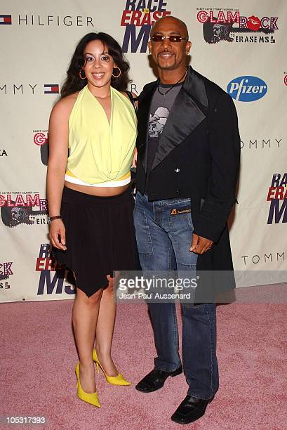 Montel Williams and daughter Ashley during 11th Annual Race To Erase MS Gala Arrivals at The Westin Century Plaza Hotel in Los Angeles California...