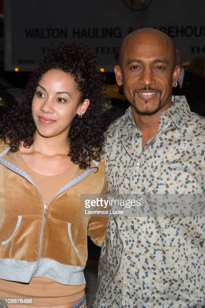 Montel Williams and daughter Ashley during The Longest Yard New York City Premiere at Clearview's Chelsea West Cinema in New York City New York...