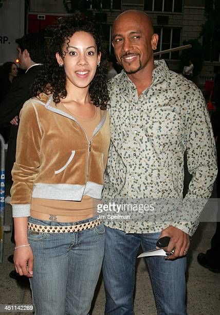Montel Williams and daughter Ashley during The Longest Yard New York City Premiere Outside Arrivals at Clearview Chelsea West Cinemas in New York...