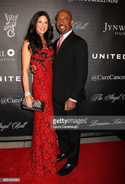 Montel Williams and wife Tara Fowler attend the 2015 Angel Ball at Cipriani Wall Street on October 19 2015 in New York City