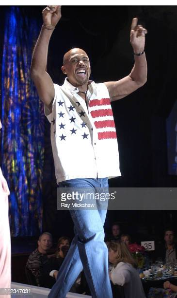 Montel Williams during The 9th Annual Race to Erase MS Co-Chaired by Nancy Davis & Tommy Hilfiger - Fashion Show at The Century Plaza Hotel in...