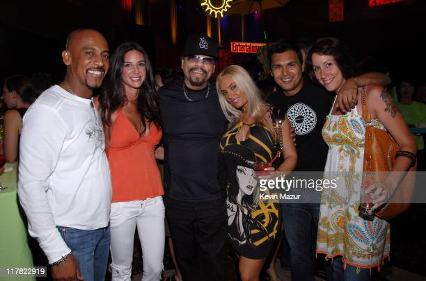 Montel Williams Tara Fowler IceT Coco Adam Beach and guest