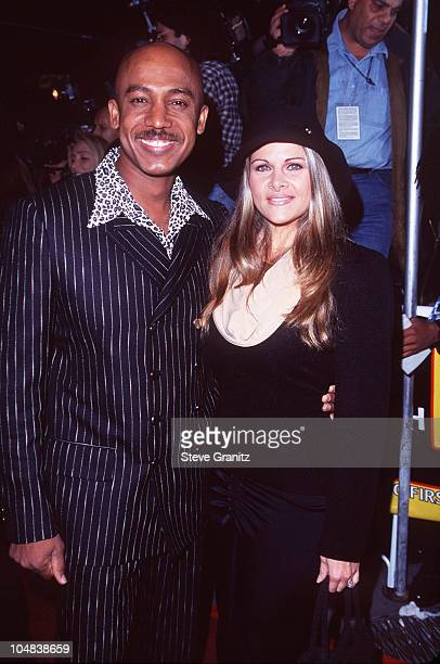 Montel Williams Wife during 1997 VH1 Vogue Fashion Awards at Madison Square Garden in New York City New York United States