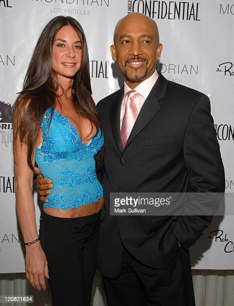 Montel Williams with his fiancée Tara Fowler