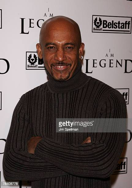 Montell Williams arrives at the I Am Legend New York Premiere at Theater at Madison Square Garden on December 11 2007 in New York City