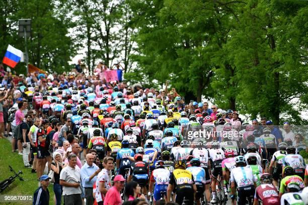 Montello / Peloton / Fans / Public / Landscape / during the 101st Tour of Italy 2018, Stage 13 a 180km stage from Ferrara to Nervesa Della Battaglia...