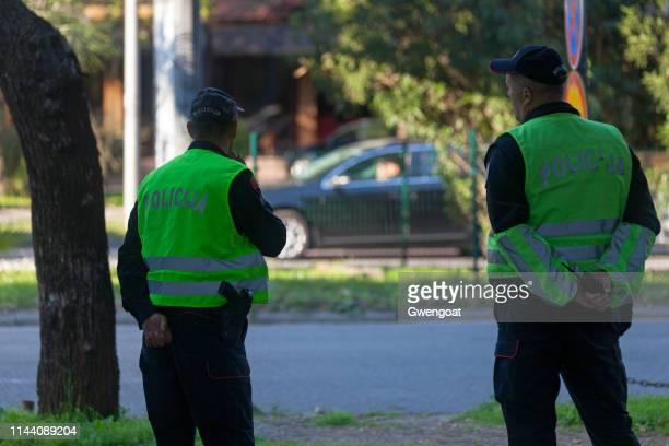 Montenegrin policemen