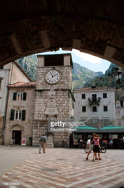 Montenegro Kotor Place Of Arms As Viewed Through The Main Gates
