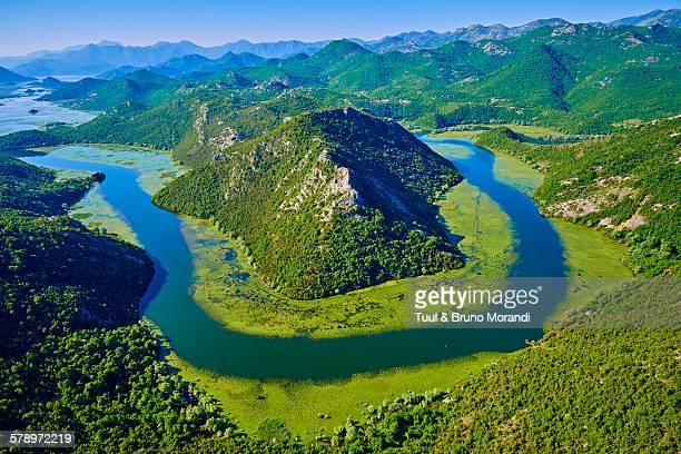 montenegro, lake skadar national park - montenegro photos et images de collection