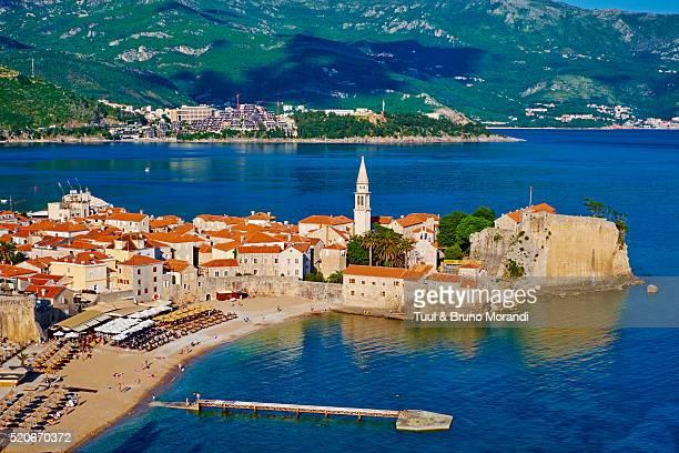 Montenegro, old town of Budva