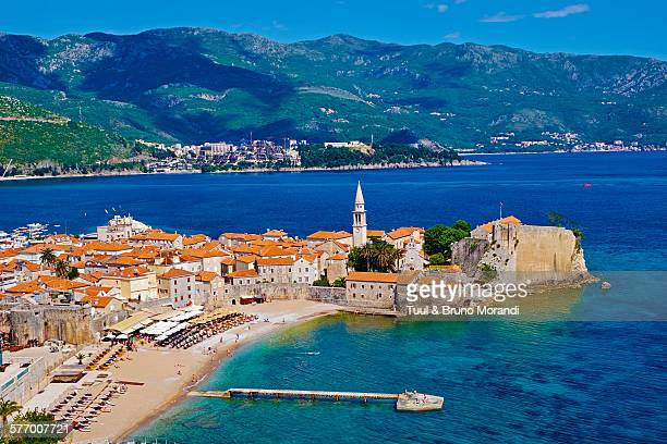 Montenegro, old town of Budva