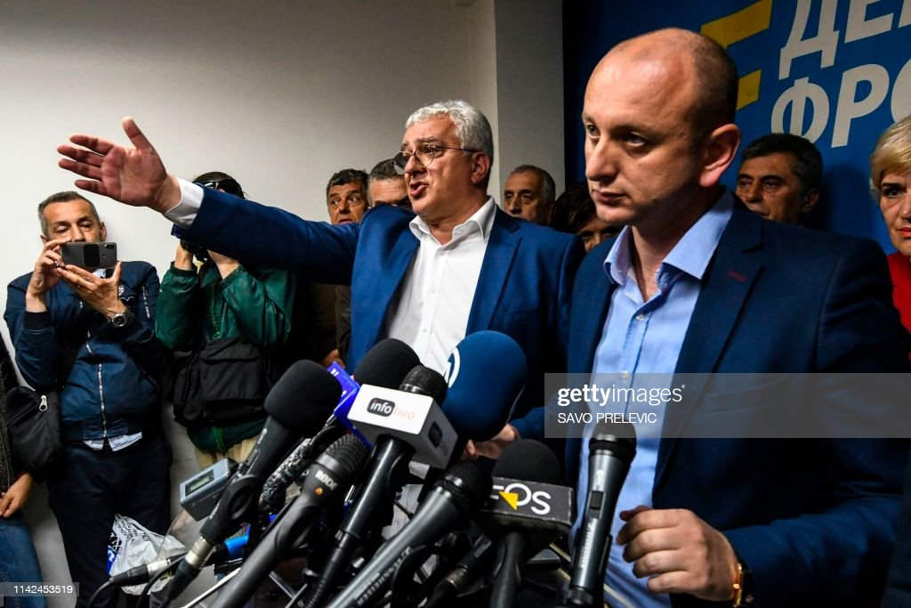 MONTENEGRO-POLITICS-COUP-TRIAL : News Photo