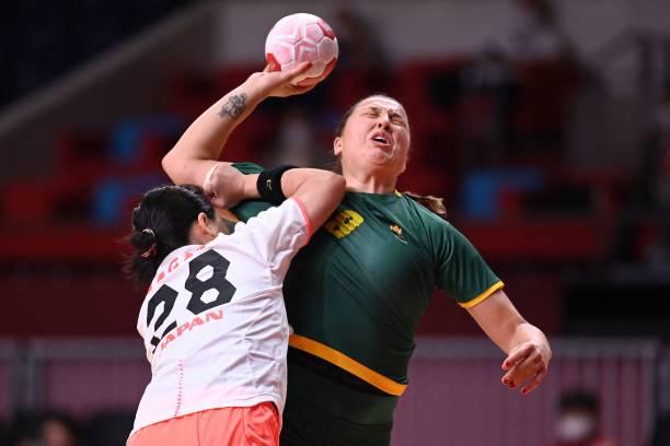 JPN: Handball - Olympics: Day 4
