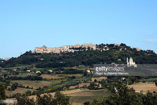 Montepulciano village in Tuscany