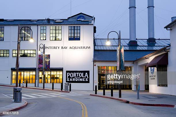 monterey bay aquarium along cannery row - city of monterey california stock pictures, royalty-free photos & images