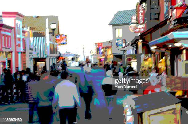 monterey pier area - city of monterey california stock pictures, royalty-free photos & images