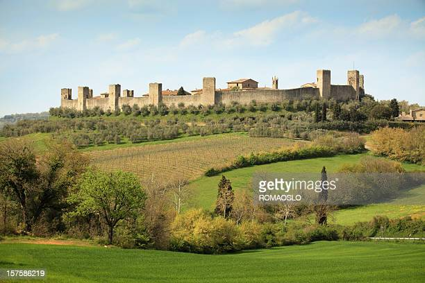 Monteriggioni, Siena Toscana Italia