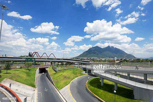 monterrey infrastructure - monterrey stock pictures, royalty-free photos & images