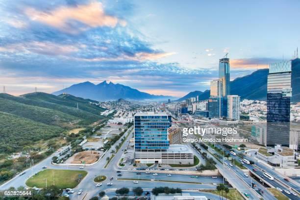 Monterrey, Mexico cityscape