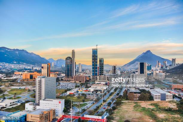 monterrey, mexico cityscape - monterrey stock pictures, royalty-free photos & images