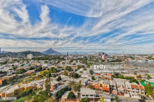 monterrey, mexico cityscape - monterrey mexico stock photos and pictures