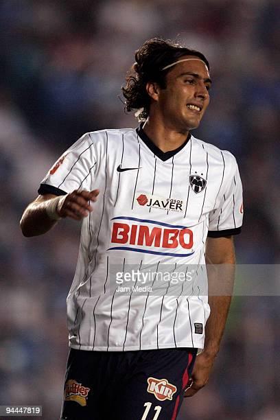 Monterrey player Aldo de Nigris celebrates during their final match against Cruz Azul valid for the 2009 Apertura tournament the closing stage of the...