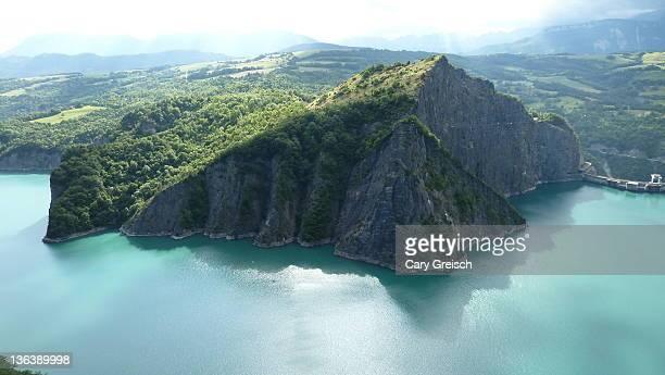monteynard lake - cary stockfoto's en -beelden