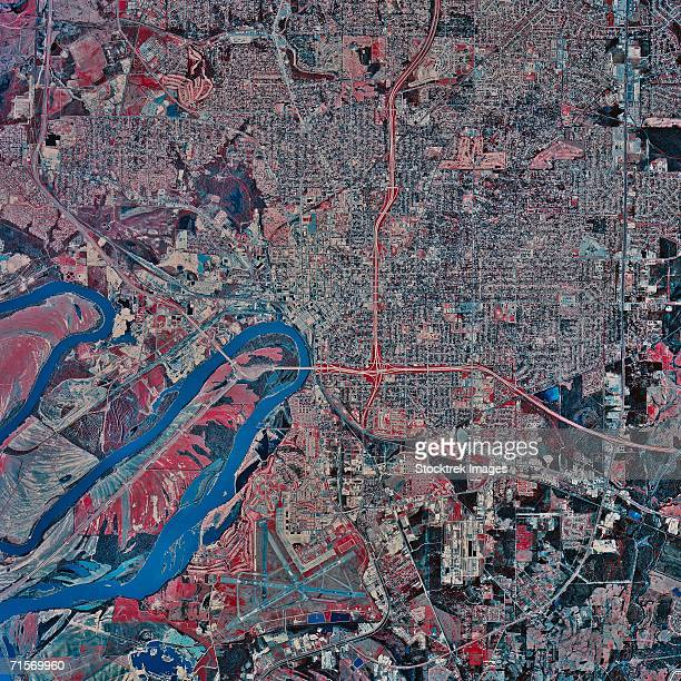 """Montgomery, Alabama, satellite image"""
