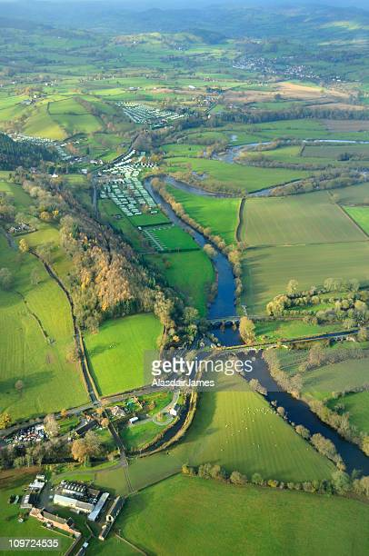 Montgomery Canal and the River Vyrnwy