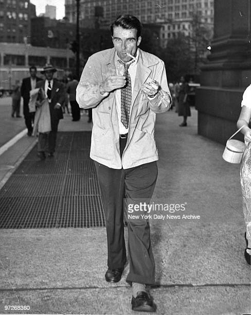 Montgomery Clift at the communist trial