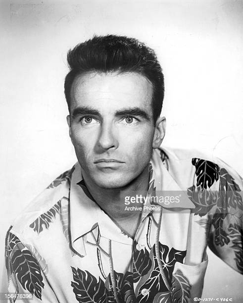 Montgomery Clift in publicity portrait for the film 'From Here To Eternity' 1953