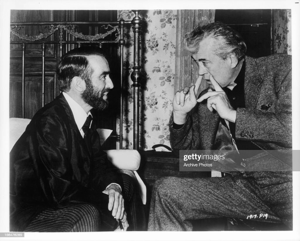 Image result for montgomery clift and John Huston