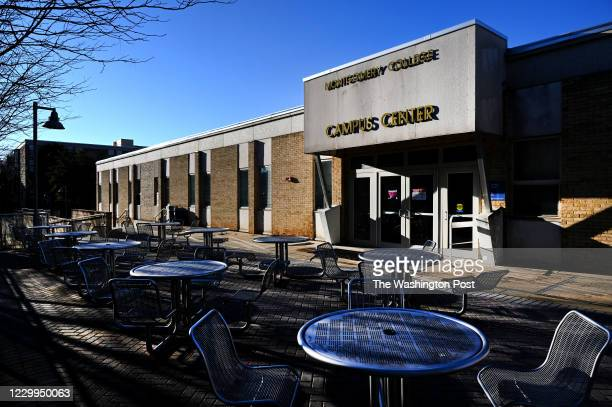 Montgomery Colleges Rockville campus is eerily quiet as most buildings are closed and classes are online due to the coronavirus pandemic December 02,...
