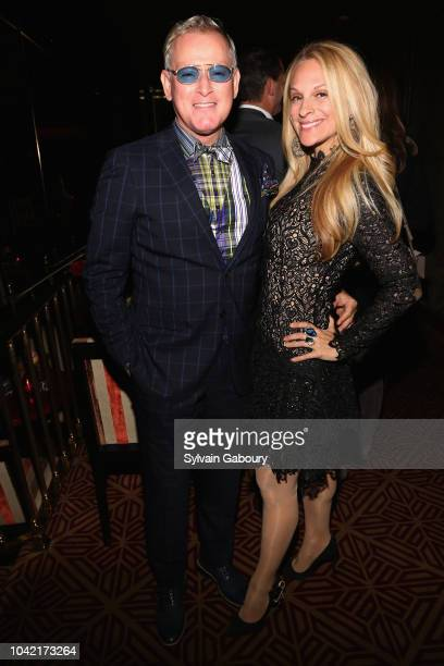 Montgomery Frazier and Consuelo Vanderbilt Costin attend David Patrick Columbia And Chris Meigher Toast The QUEST 400 At DOUBLES on September 27 2018...