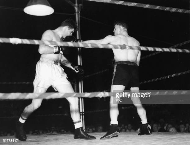 A month after defeatign Max Baer for the heavyweight championship American boxer James Braddock fights Tom Patick in a exhibition bout Jersey City...