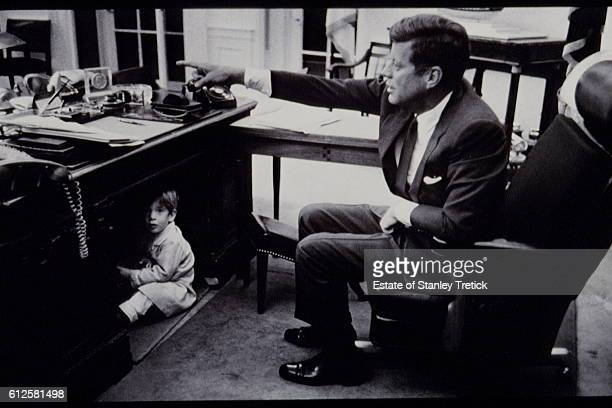 A month before his assassination in Dallas John F Kennedy who had started to prepare the 1964 presidential campaign invited the photographer Stanley...