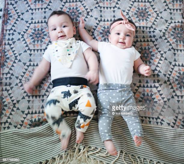 6 Month Old Boy/Girl Twins