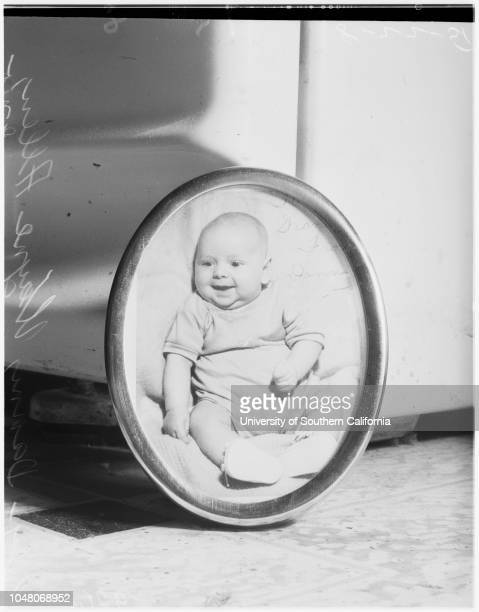 8 months old son of father in Korea killed in auto accident 22 August 1951 Danny Wayne Allen Staff Sergeant Henry Allen 22 years Theresa Allen 20...