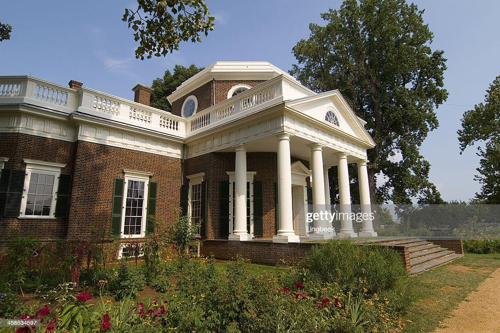 Excellent Monticello Der Heimat Von Prasident Thomas Jefferson Stock Home Interior And Landscaping Synyenasavecom