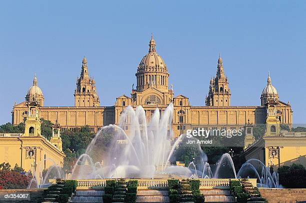 Montijuich Palace in Barcelona