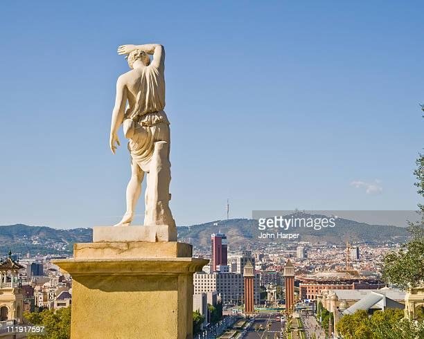 Montjuic Hill, Placa d'Espana, Barcelona